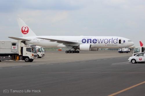 JAL oneworld塗装