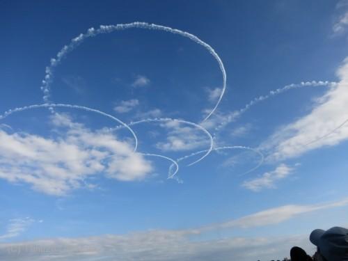 2014入間基地航空祭:ブルーインパルス さくら