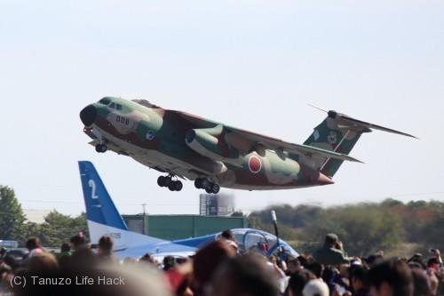 2014入間基地航空祭:C-1離陸