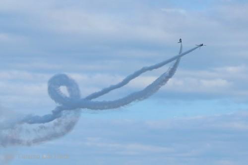 2014入間基地航空祭:ブルーインパルス コークスクリュー