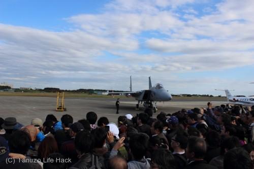2014入間基地航空祭:F-15