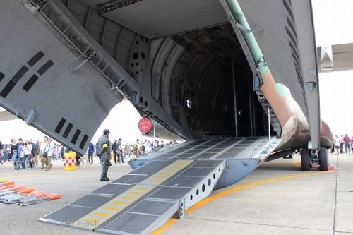 2014入間基地航空祭:C-1 背面