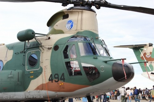 2014入間基地航空祭:UH-47J