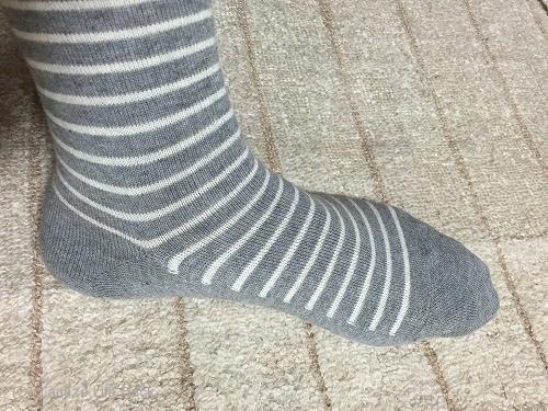 無印良品直角靴下 メンズ