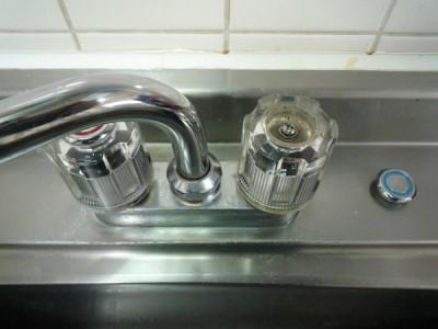 Panasonic食洗機(NP-TR3):ハンドルキャップの取り外し