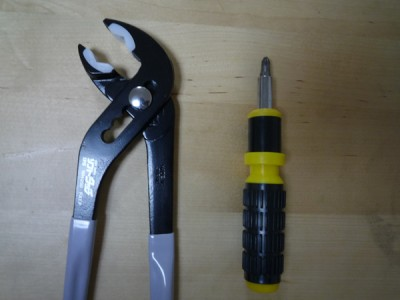 Panasonic食洗機(NP-TR3):使用した工具