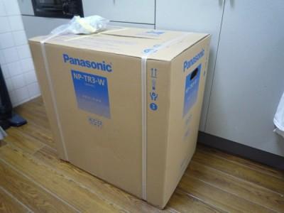 Panasonic食洗機(NP-TR3):製品の到着