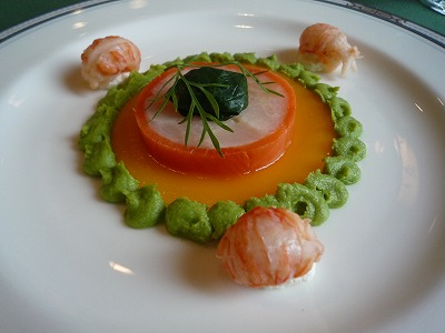 県民共済披露宴の食事:前菜