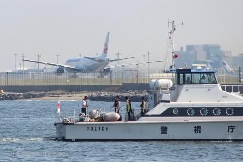 羽田空港城南島海浜公園撮影_C滑走路離陸