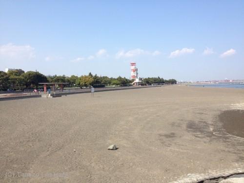 羽田空港城南島海浜公園撮影_城南島海浜公園砂浜