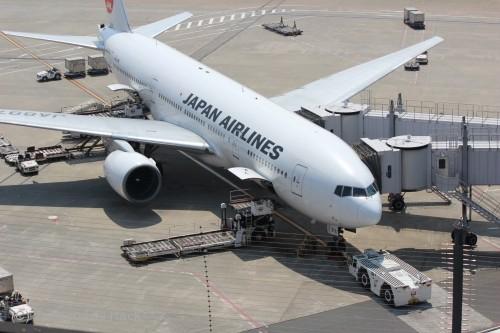 羽田空港第1ターミナル撮影_JAL駐機その2