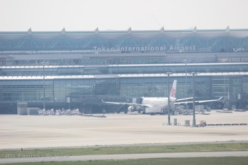 羽田空港第1ターミナル撮影_国際線ターミナル