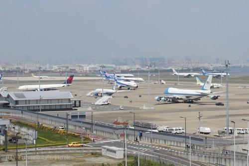 羽田空港P3駐車場からの撮影 その2