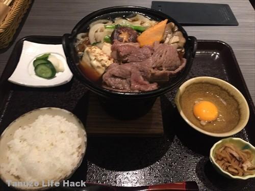 神戸牛懐石511 すきやき定食