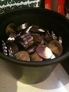 ベネクス(BENEX)のコイン300枚の様子