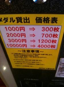 ベネクス(BENEX)のコインは1000円で300枚ととってもお得