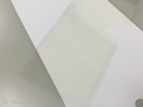 液晶フィルムが黄ばんでいる