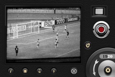 昔の動画風に撮影出来るビデオカメラアプリ「8ミリカメラ」の使い方