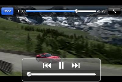 iPhone/iPod用で見るための動画の作り方・iPhone/iPod動画変換ソフト「iPodMe」:GoodReaderでの動画再生