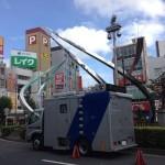警視庁・移動防犯カメラ車