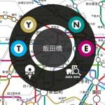 メトロタッチ:飯田橋駅