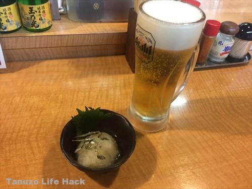 えき亭生ビール