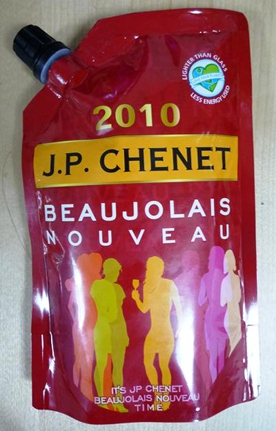 ボジョレーヌーボー:ボジョレーヌーボー赤(真空パック)J.P. CHENET BEAUJOLAIS NOUVEAU