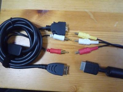 AQUOS(液晶テレビ・大画面テレビ)でプレステ2がにじむ・ぼやける場合の対処方法:これまで使っていたコンポジットケーブルとの比較