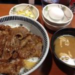元祖焼き牛丼の東京チカラめしに行ってきたの巻