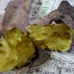 魚焼きグリルで焼き芋